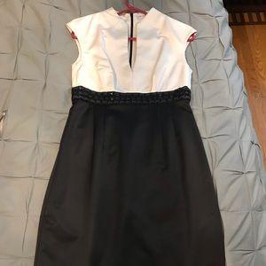 Trina Turk Black and White dress